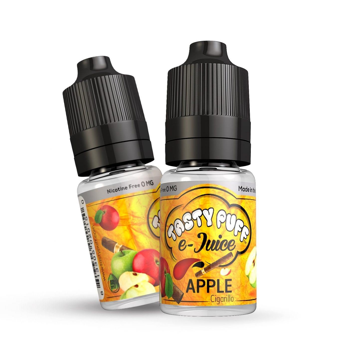 Apple Cigarillo E Juice Tasty Puff