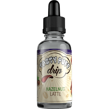 Hazelnut latte 3 mg front